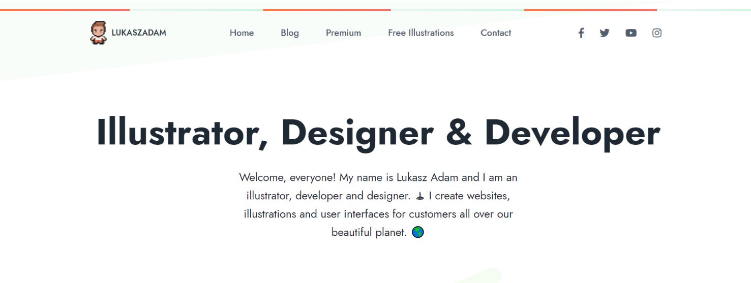 Lucasz Adam: Free illustrations
