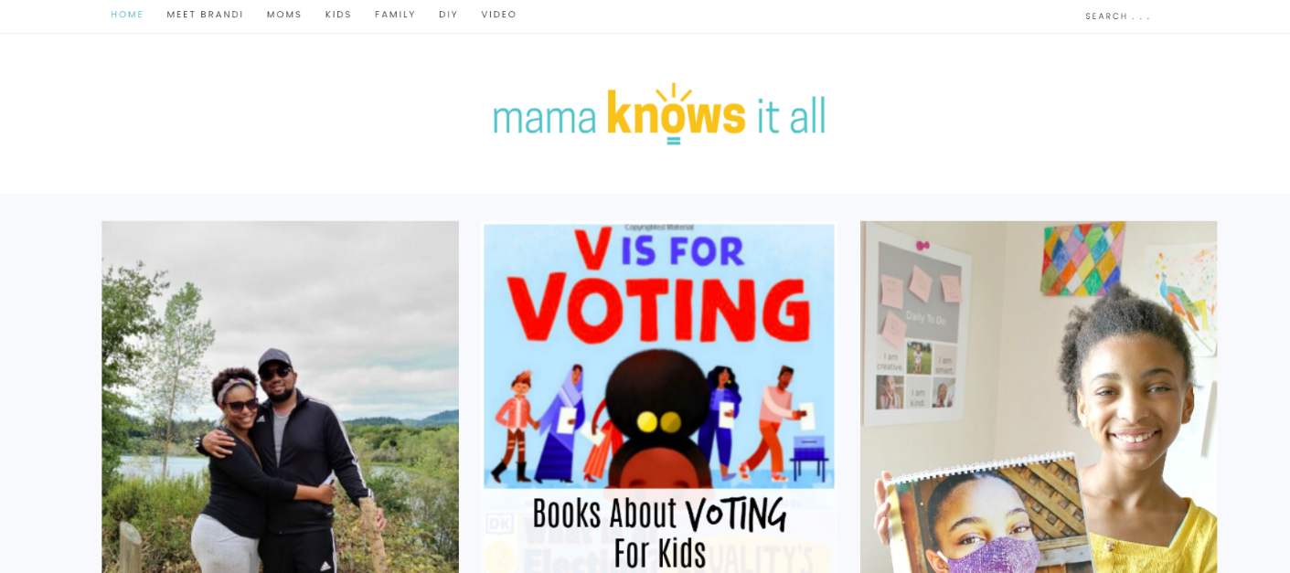 Mama knows it all: Mommy blog
