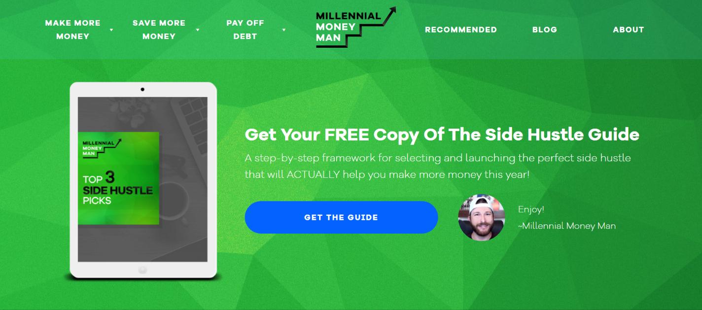 Millenial money man: Personal finance blog