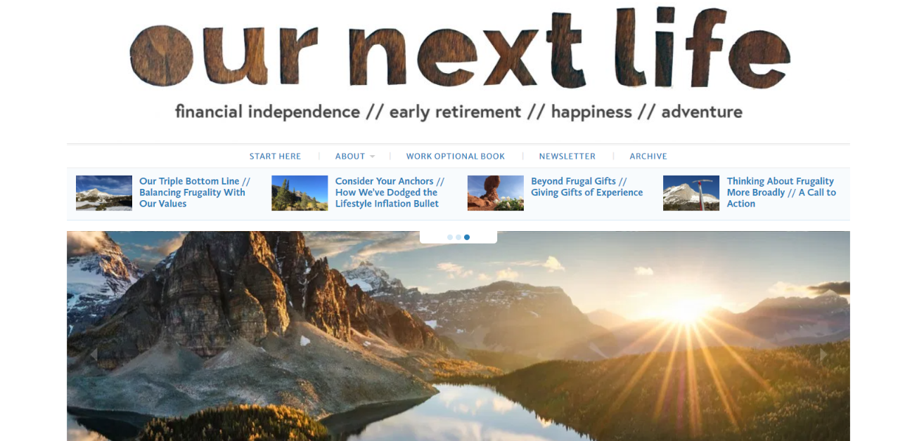 Our next life: Personal finance blog