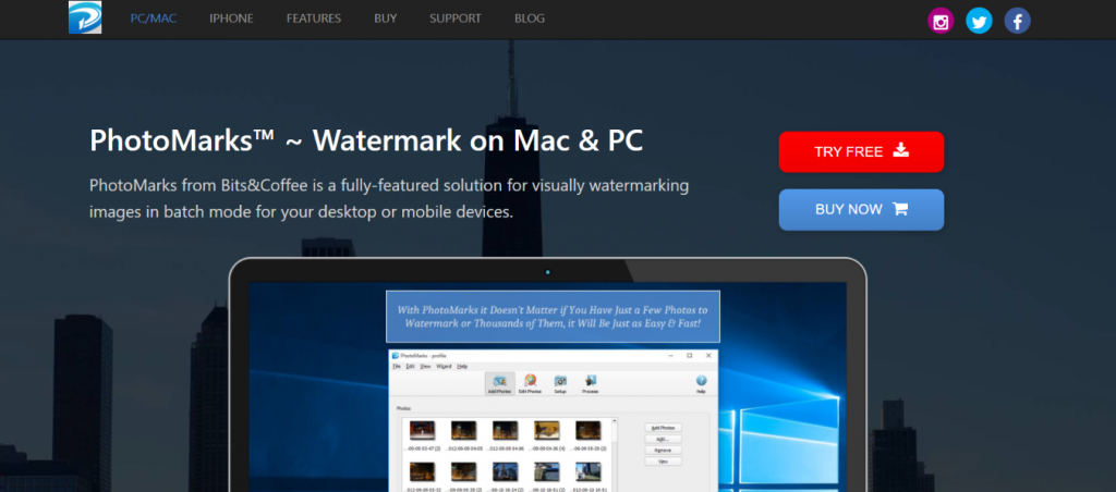 Photo Marks: Watermark app