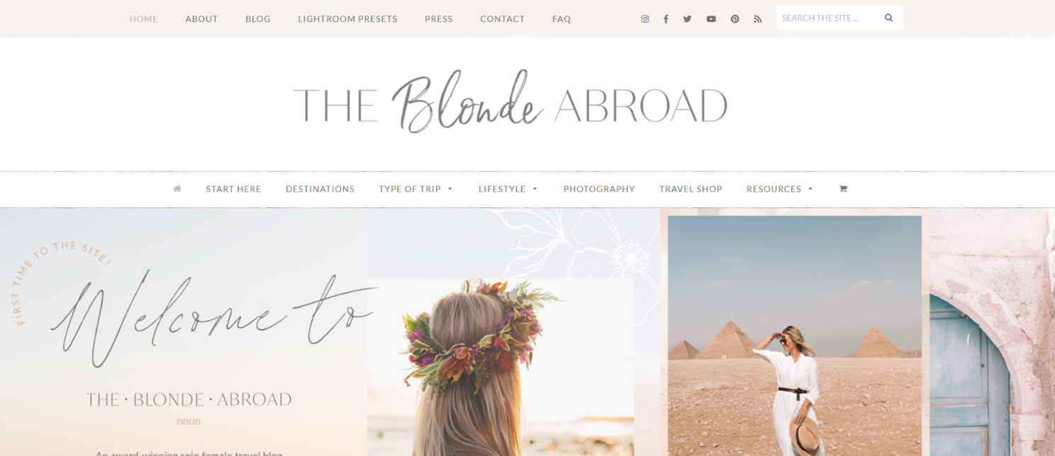 The blonde abroad: Lifestyle blog