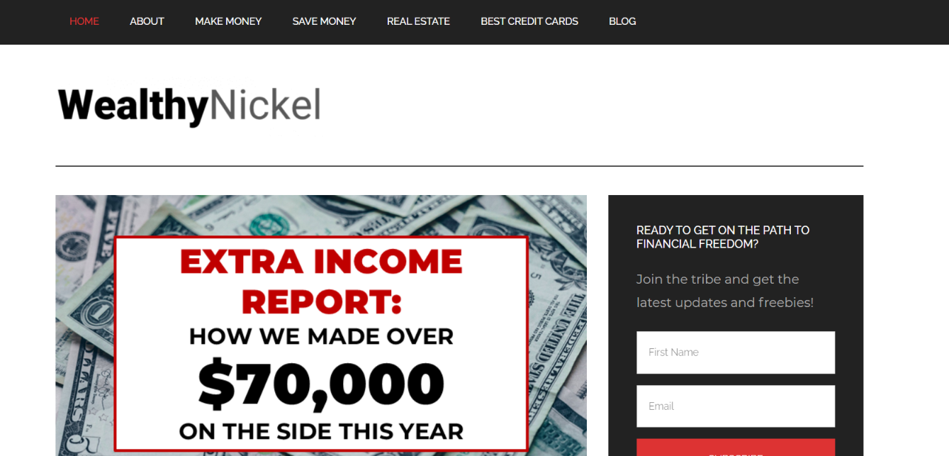 Wealthy nickle: Personal finance blog