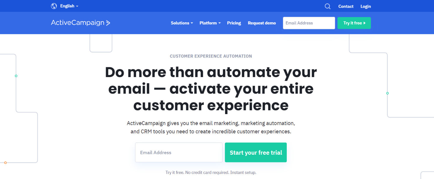 Activecampaign: Digital marketing automation tool