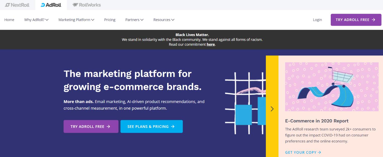 Adroll: Digital marketing automation tool