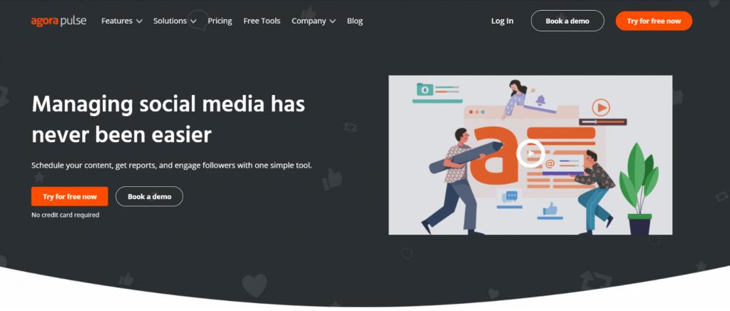 Agorapulse: Social media automation tool
