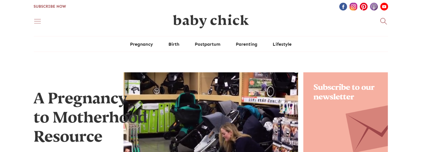 Baby chick: Mommy blog