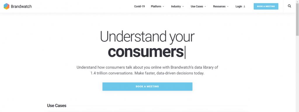 Brandwatch: Social media automation tool