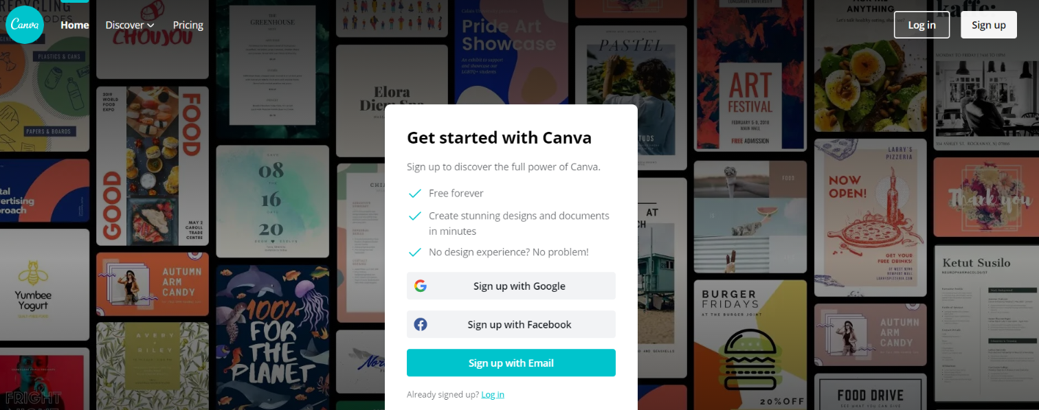 Canva: Tool for blogging