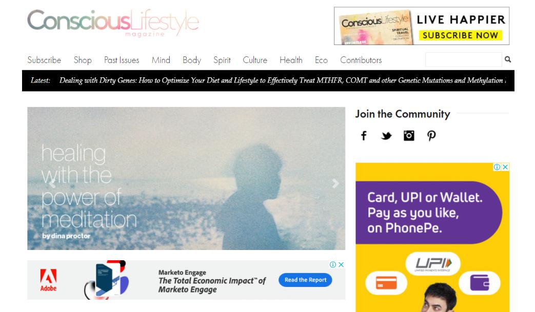 Conscious lifestyle: Lifestyle blog