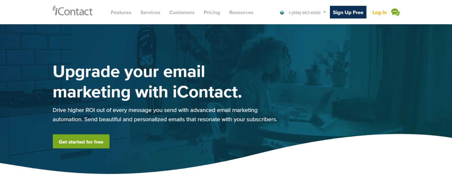 iContact: Digital marketing automation tool