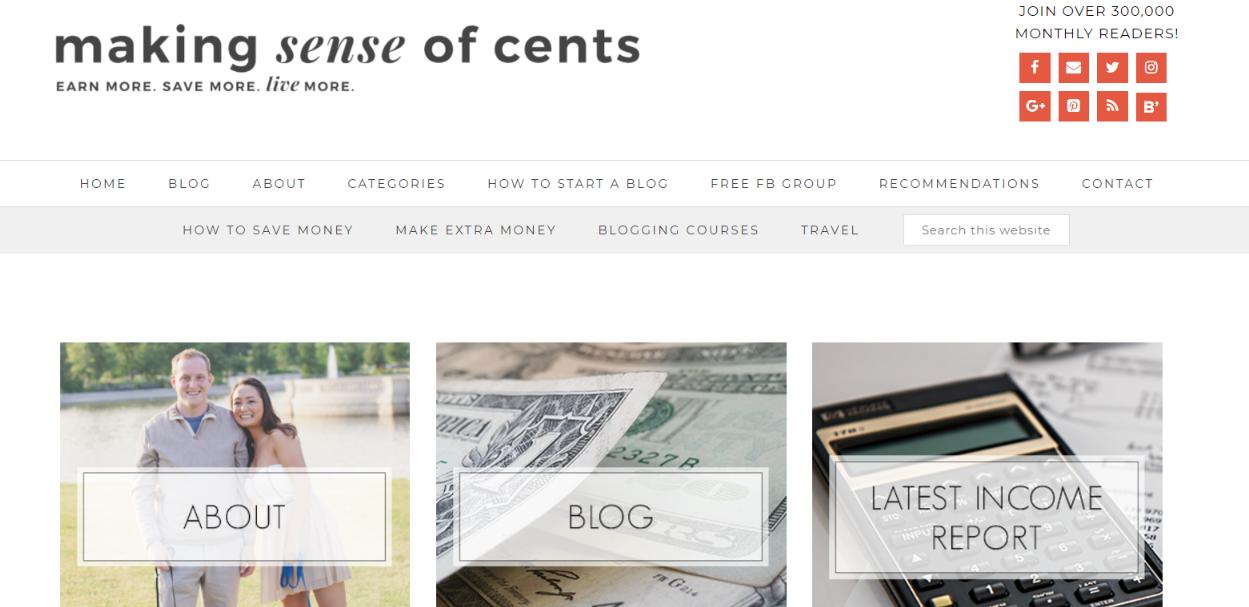 Making sense of cents: Personal finance blog
