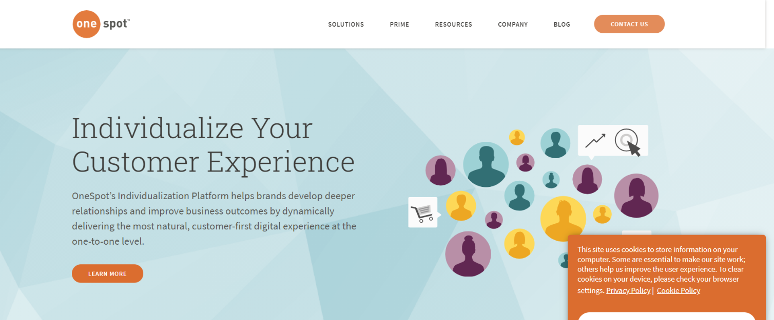 Onespot: Digital marketing automation tool