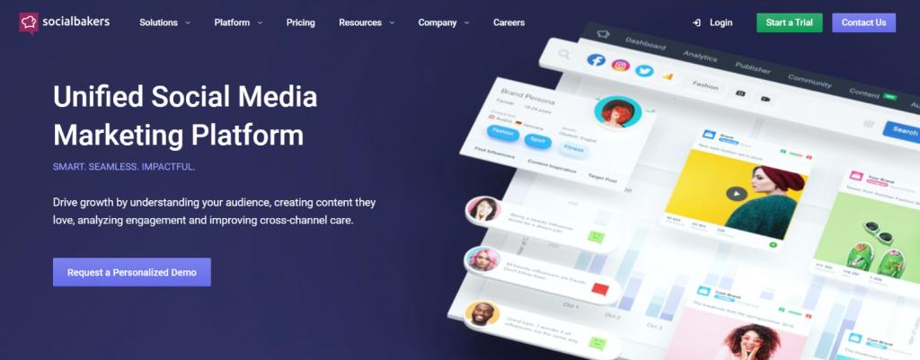 Social Bakers: Social media automation tool