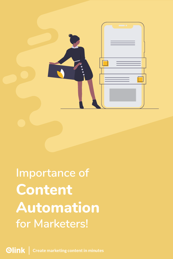 Importance of content automation - pinterest