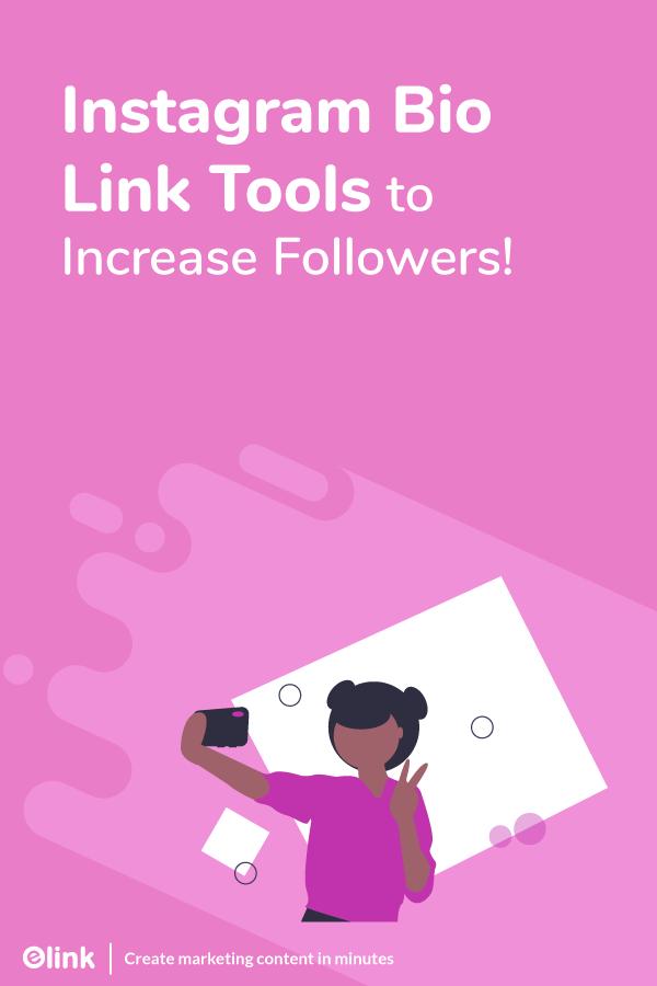 Instagram bio link tools - pinterest