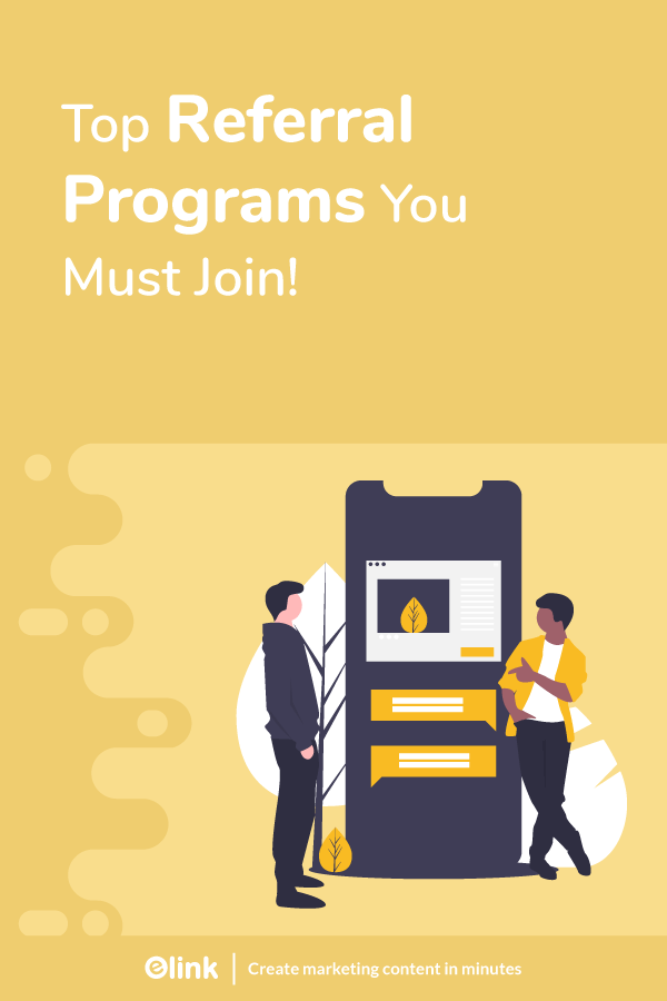 Referral programs - pinterest