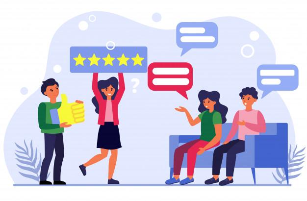 Customers leaving reviews on instagram
