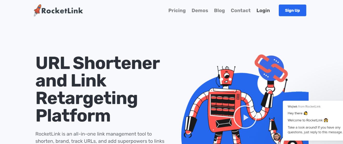 Rocketlink: link management tool