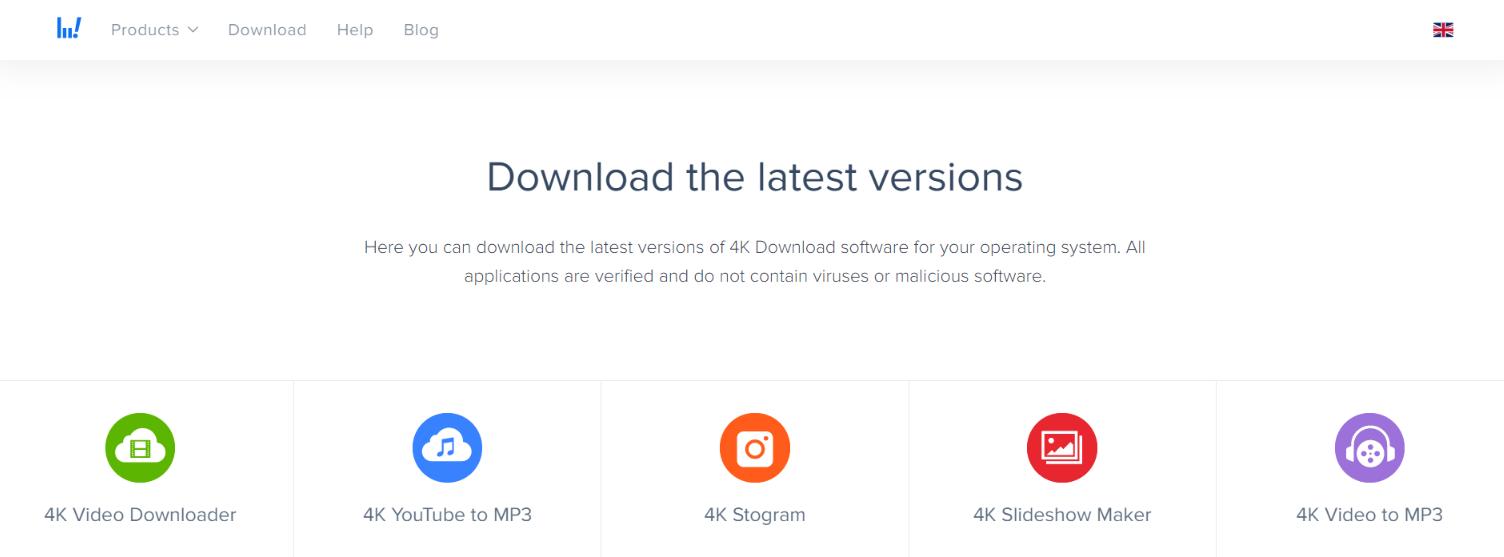 4K Video downloader: Youtube to mp3 converter
