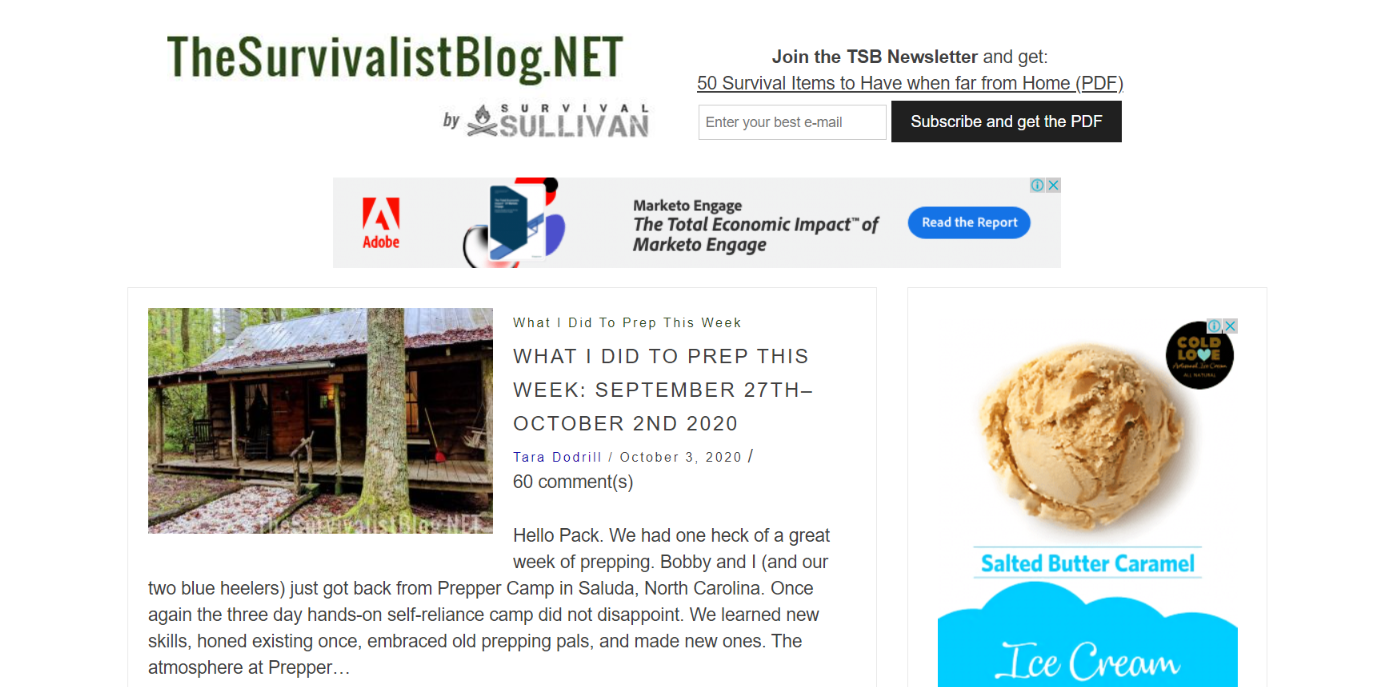 The survivalist blog - Survival blog