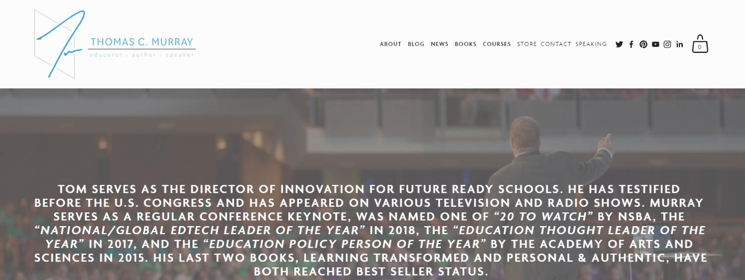 Thomas C. Murray: Educational blog