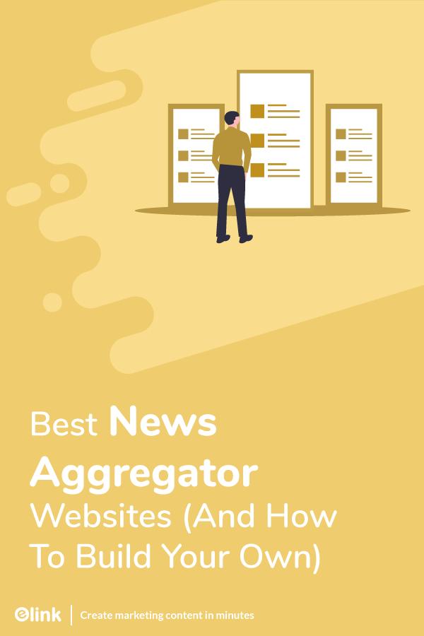 News aggregator websites - pinterest