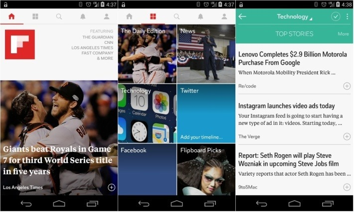 Flipboard: News aggregator website