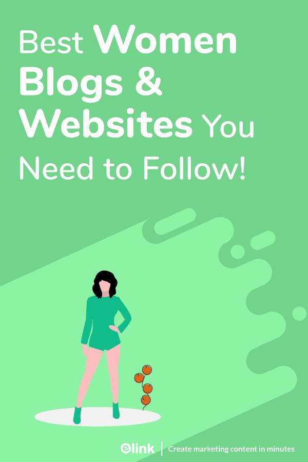 Women blogs and websites - pinterest