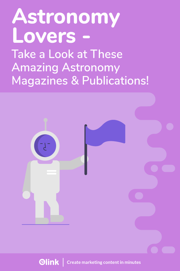 Astronomy magazines and publications - pinterest