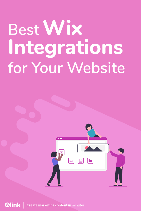 Wix integrations - pinterest