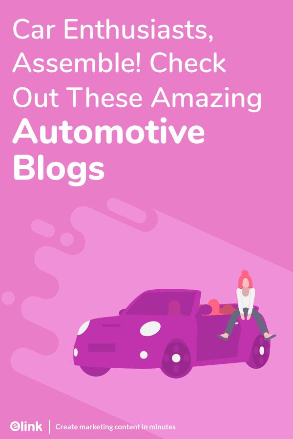 Automotive blogs - pinterest