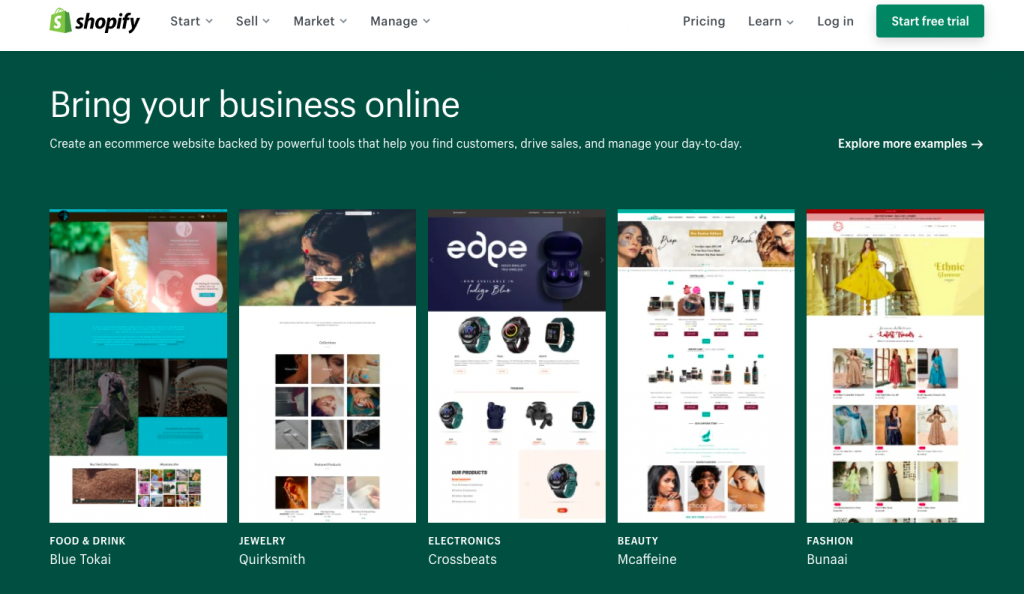 Shopify: Ecommerce tool