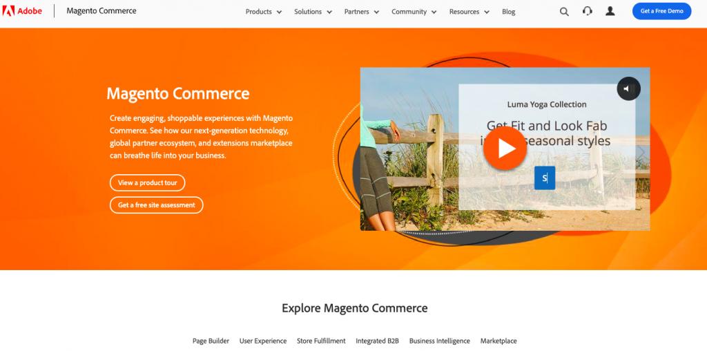 Magento: Ecommerce tool