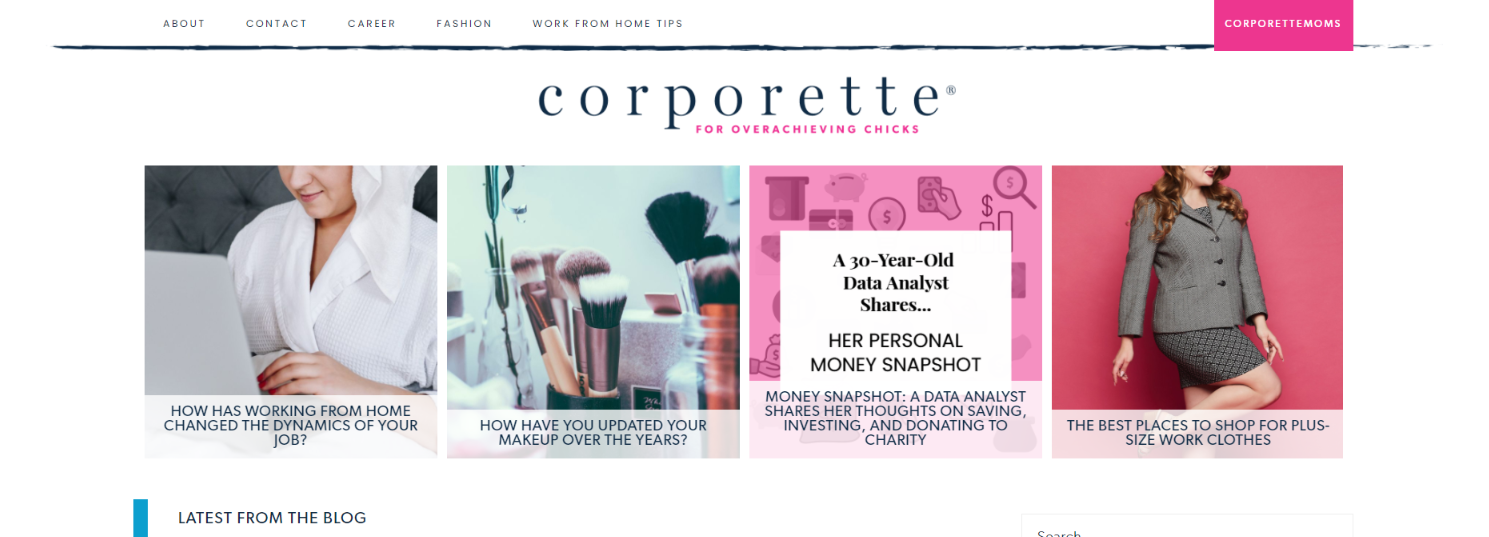 The Corporette: Women blog and website