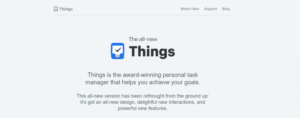 Things: Tool for freelancers