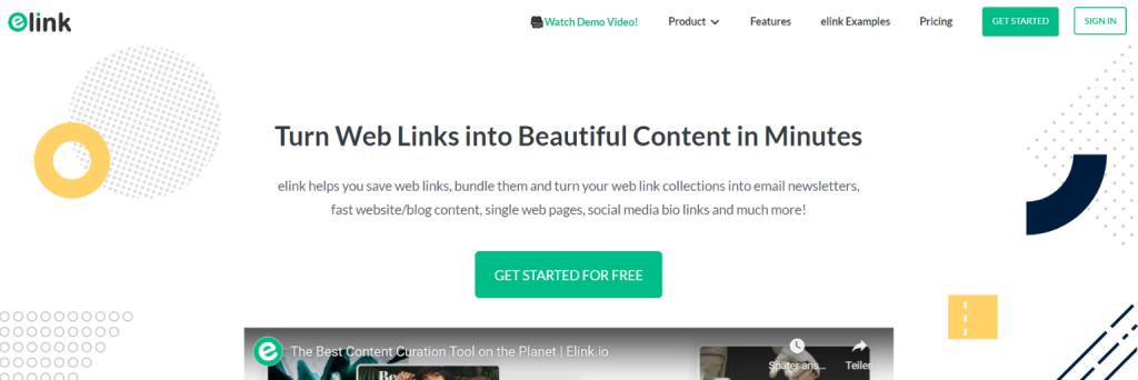 elink.io: Tool for freelancers