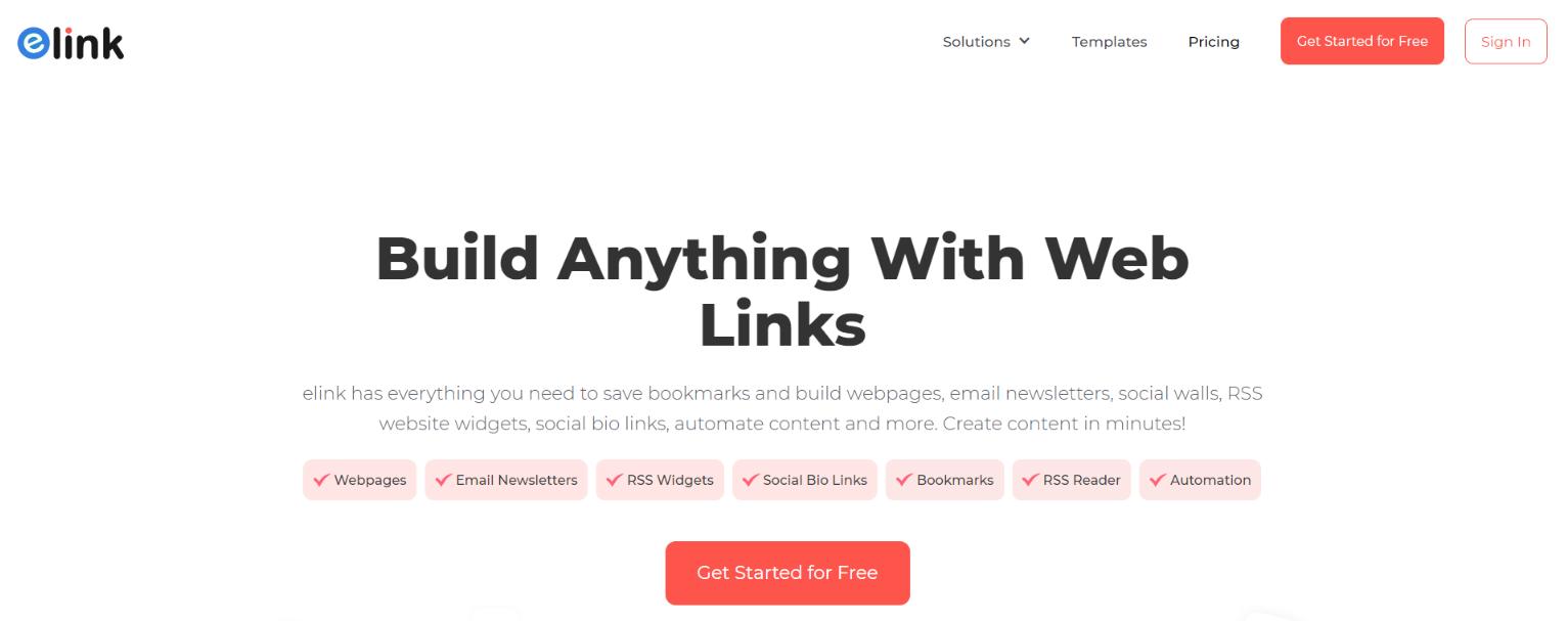 elink.io: Content creation tool