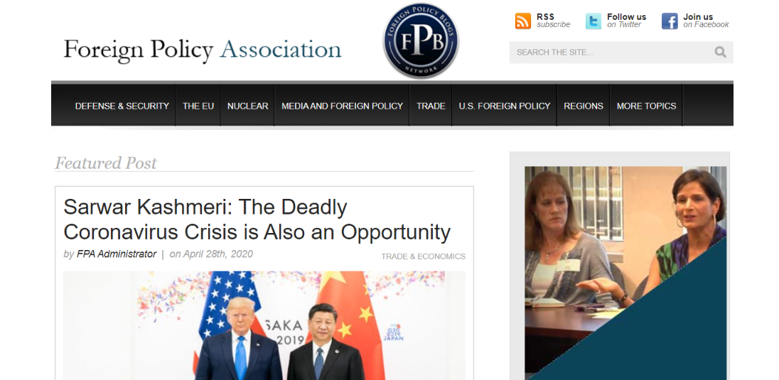 Foreign policy blogs: Political blog