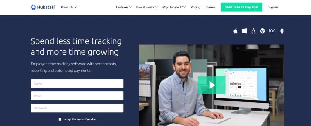 Hubstaff: Tool for freelancers