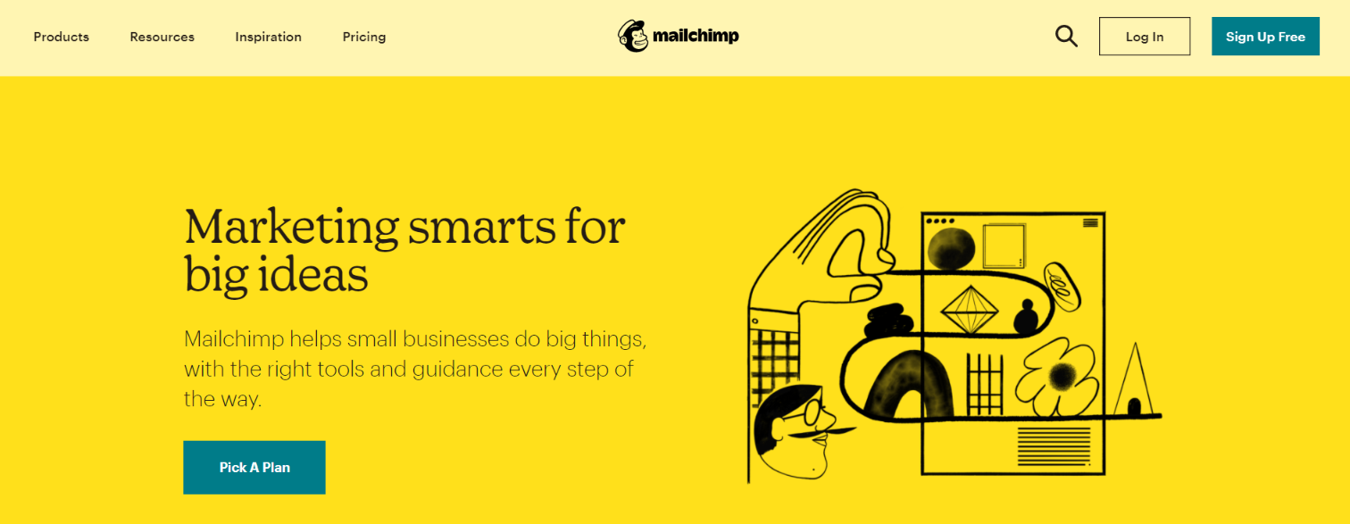Mailchimp: Tool for freelancers