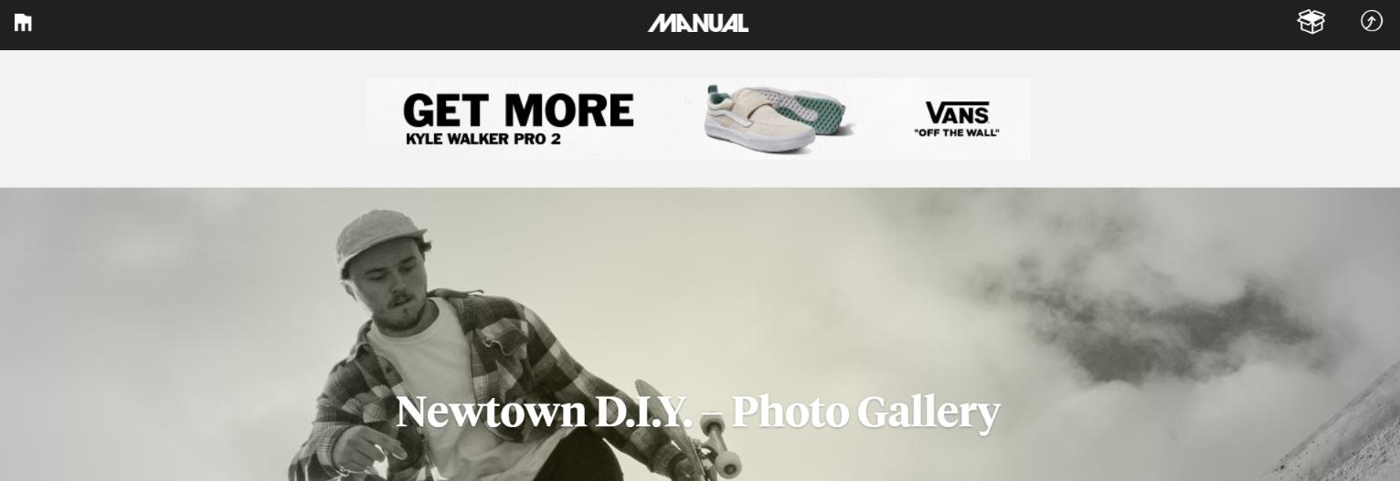 Manual: Skateboard magazine and publication