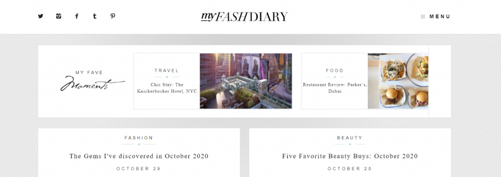 My fash diary: Fashion blog and website