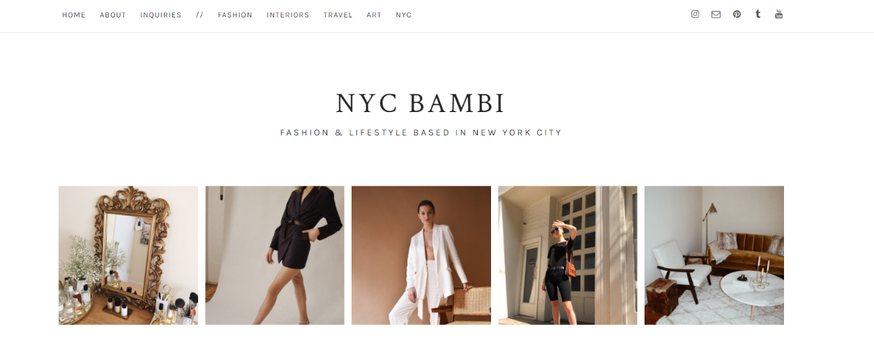 Nyc bambi: Fashion blog and website