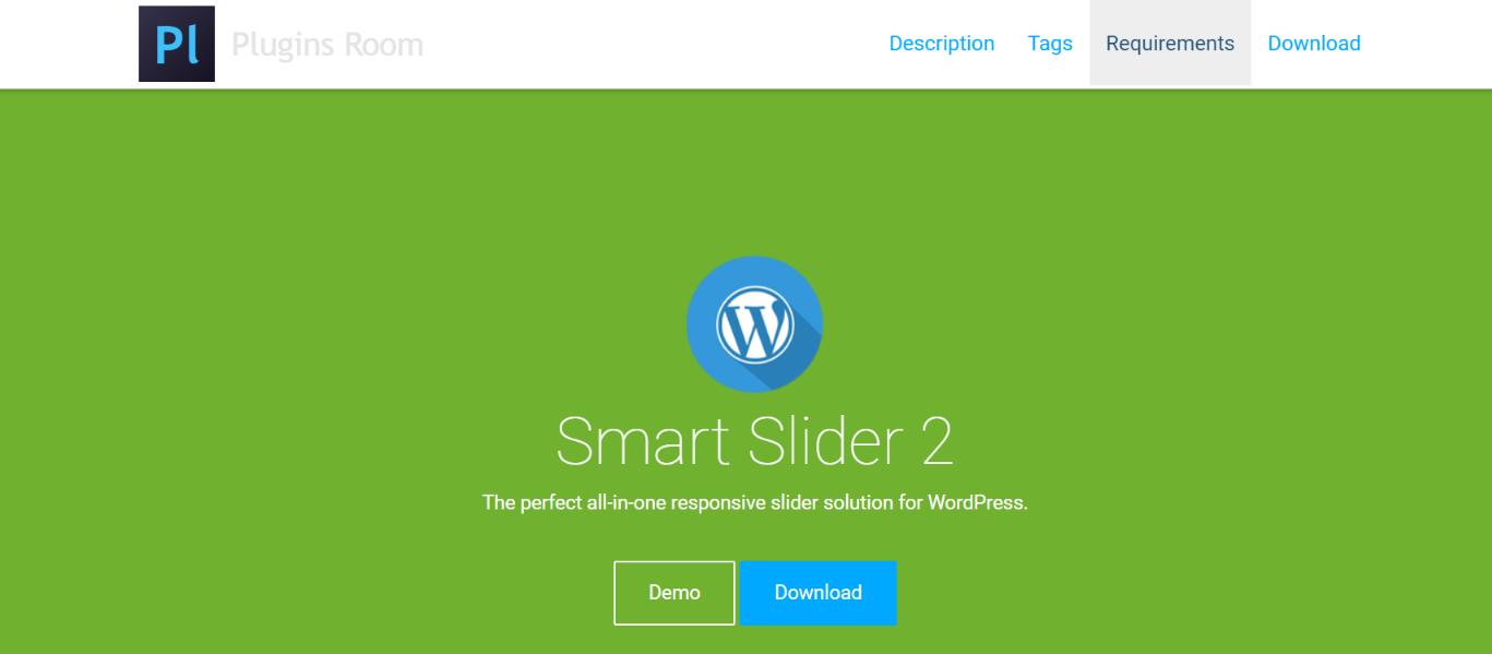 Smart slider 2:  WordPress slider and carousel plugin