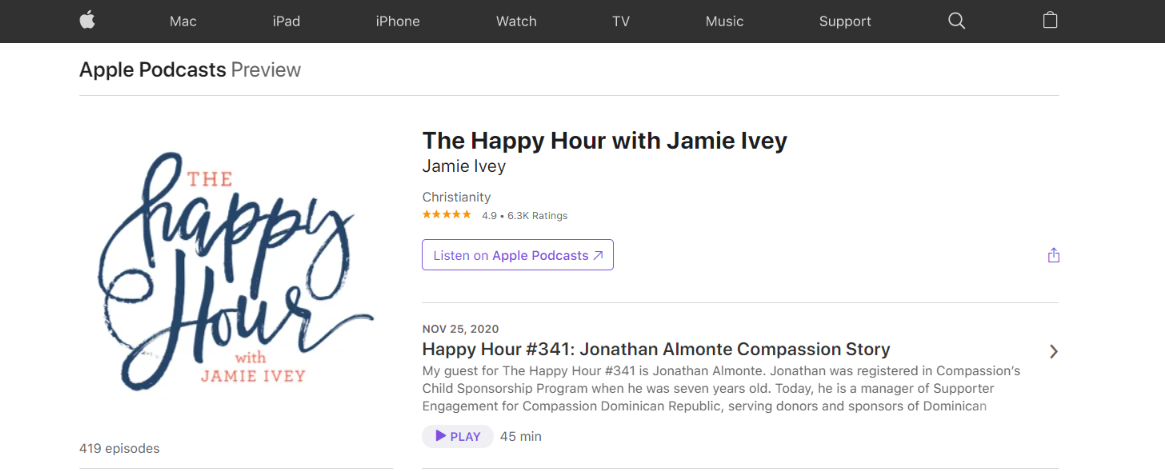 The happy hour podcast: Christian podcast