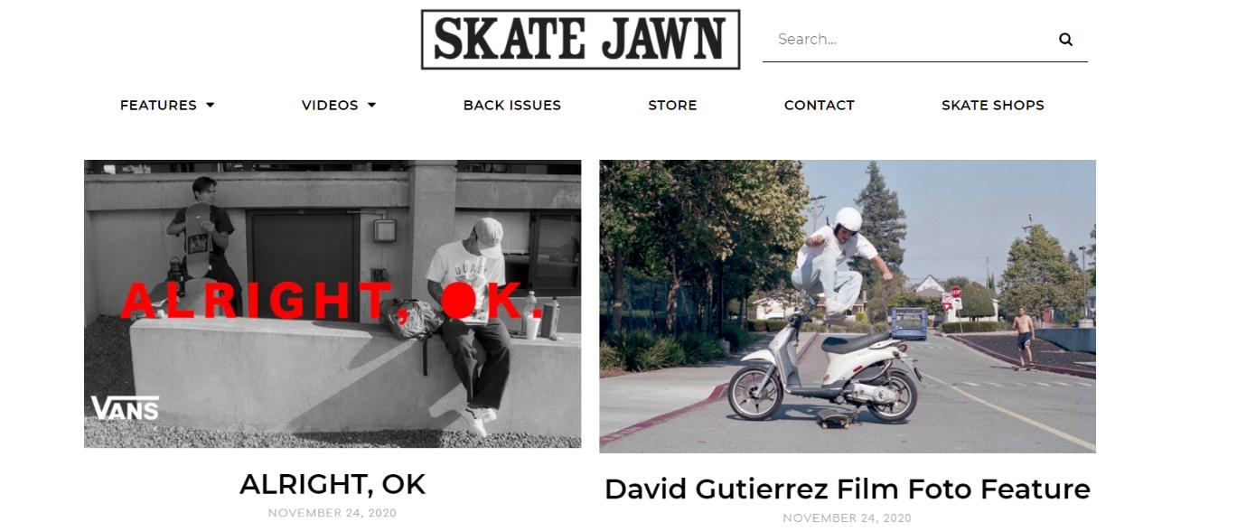 Skate Jawn: Skateboard magazine and publication