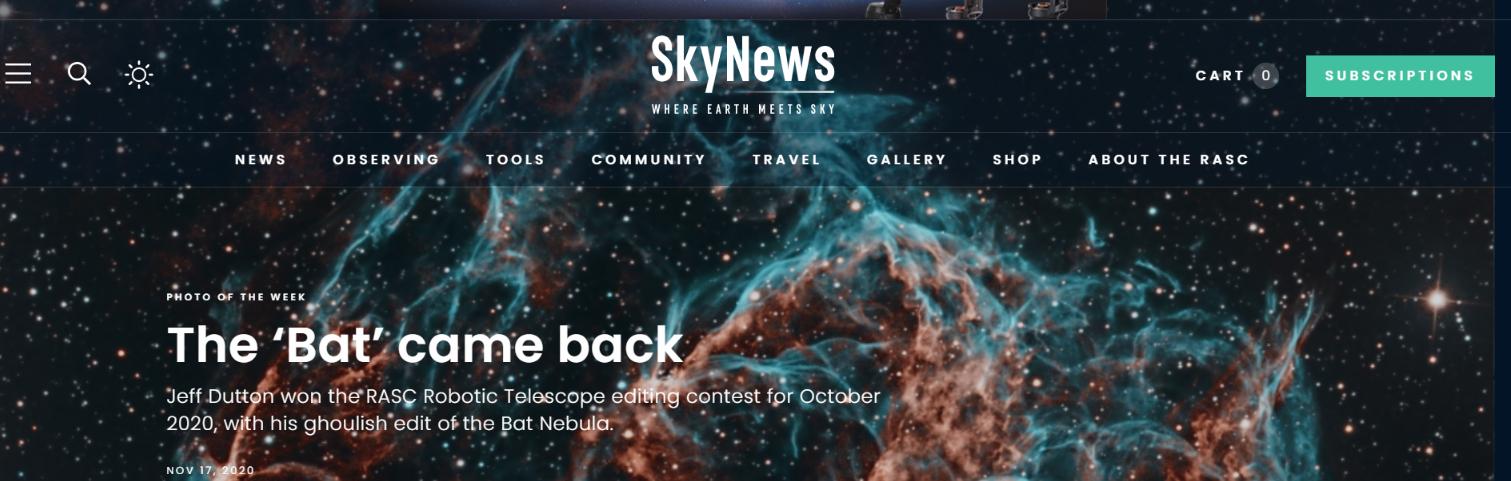 Skynews magazine: Astronomy magazine and publication