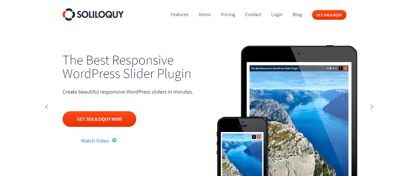 Soliloquy: WordPress slider and carousel plugin