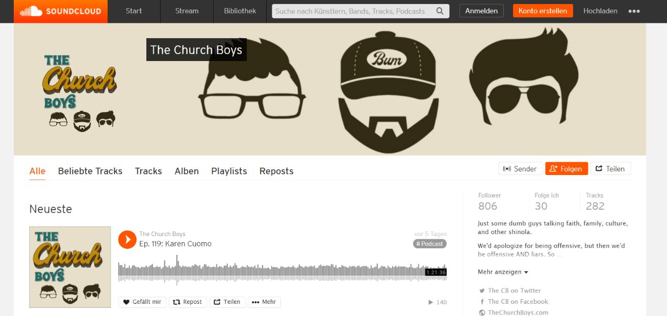 The church boys: Christian podcast